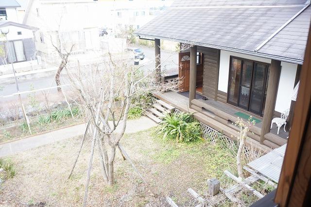 別棟2階からお庭の眺め