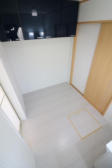 洗面所2吊戸