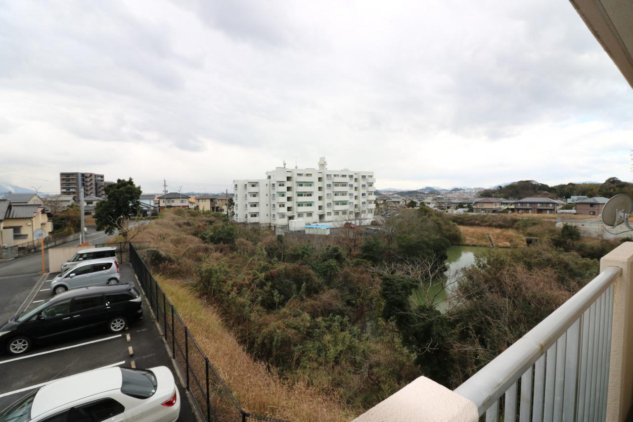 南側からの眺望