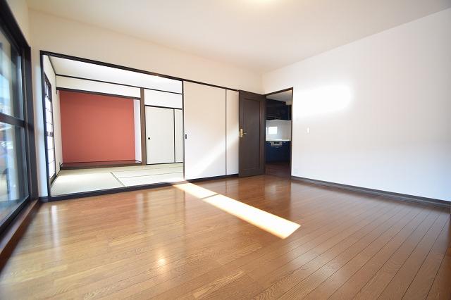 1階8帖洋室→和室