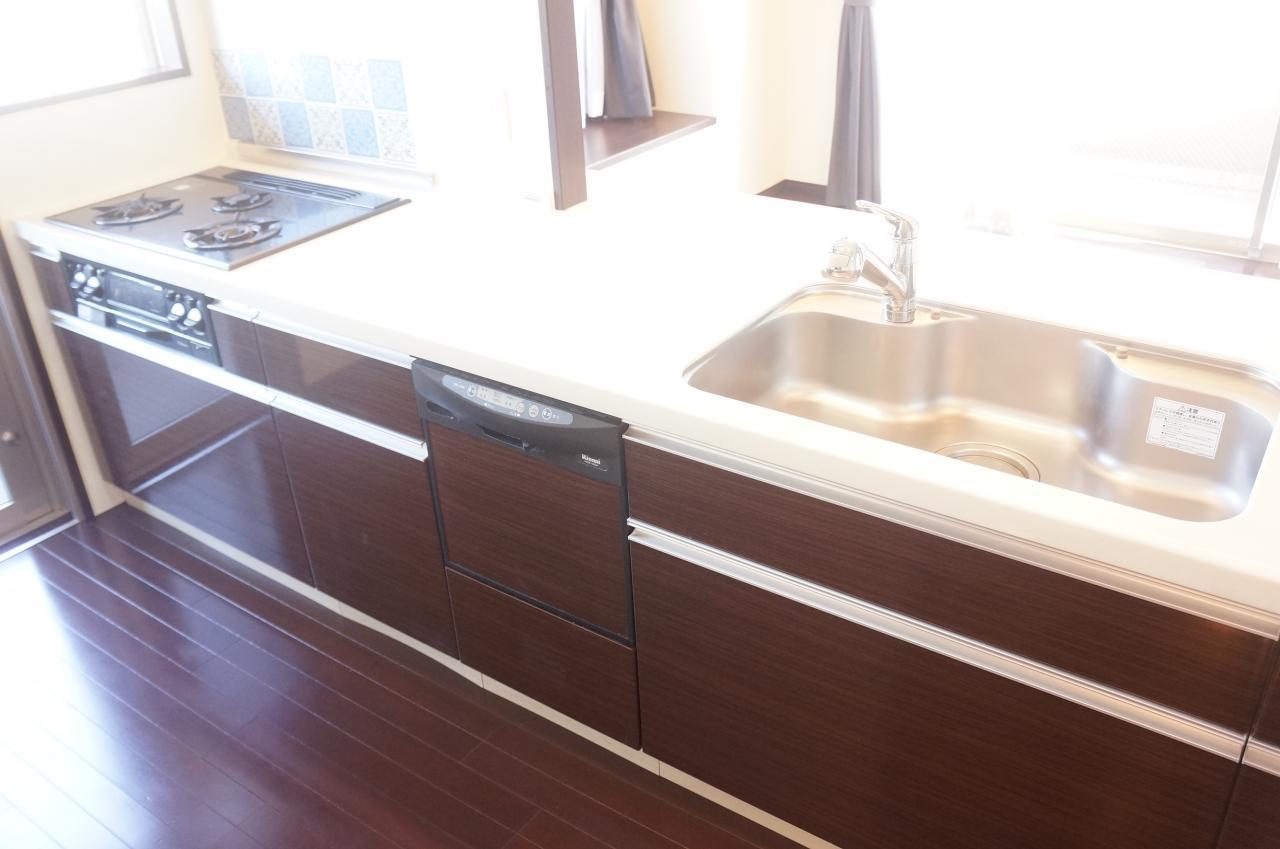 食器洗浄乾燥機つきキッチン