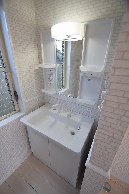2階の洗面♪