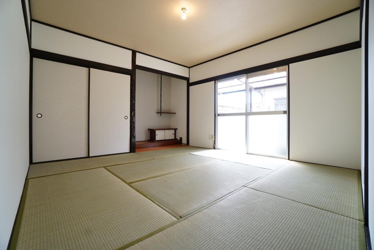 和室:表替えをした畳が入ります♪