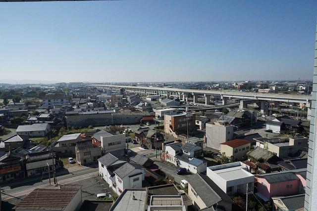 バルコニーからの眺望・11階ですので眺めも良いです♪